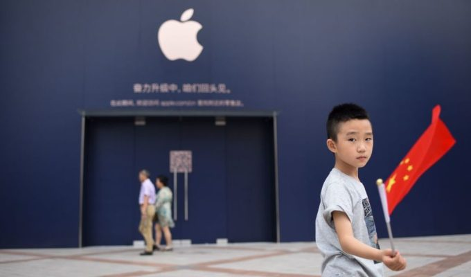 Apple says iPhones remain on sale in China following court injunction