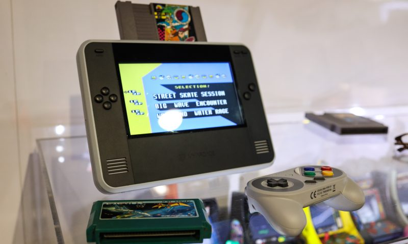 This extra-large handheld Nintendo works (and feels) like the real thing