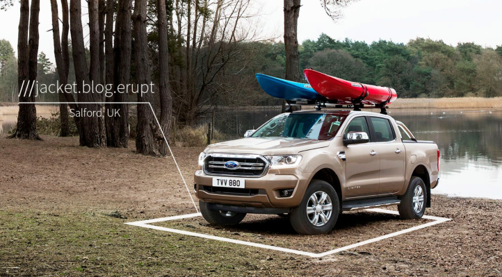 Ford partners with geocoding startup what3words