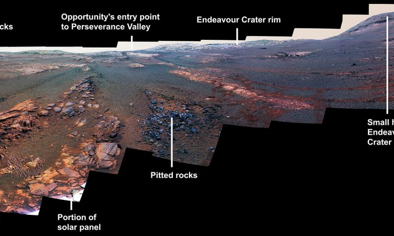 Opportunity's last Mars panorama is a showstopper