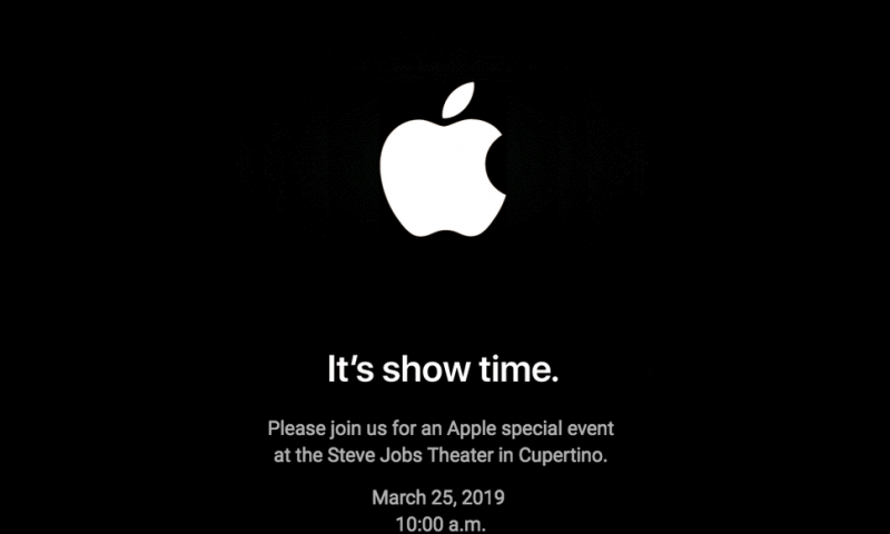 Apple announces March 25 event, subscription services likely the focus