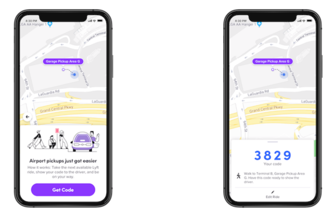 Lyft expands its PIN feature for airport pickups to LaGuardia