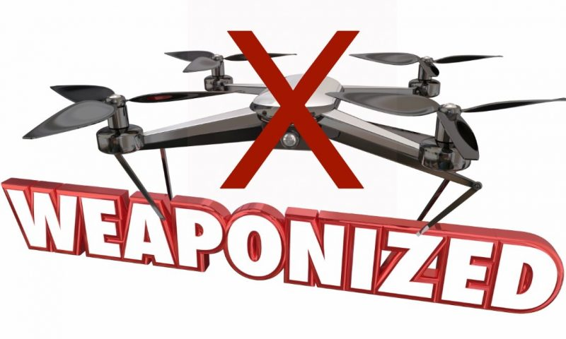 FAA threatens $25,000 fine for weaponizing drones