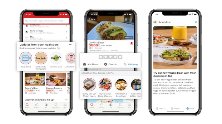 Yelp adds predictive wait times and a new way for restaurants to share updates