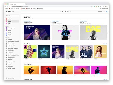Apple Music is now available through your favorite browser