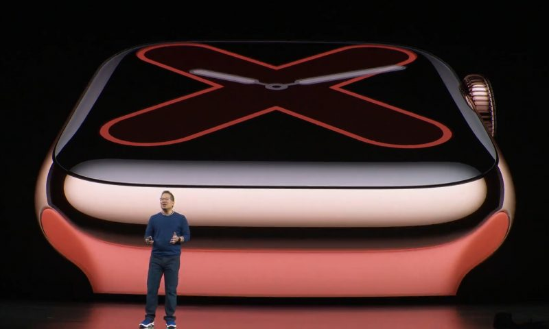 Apple introduces the Apple Watch Series 5 with always-on display