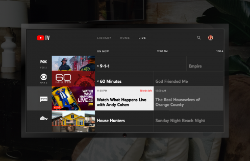 YouTube TV is now available on Fire TV devices