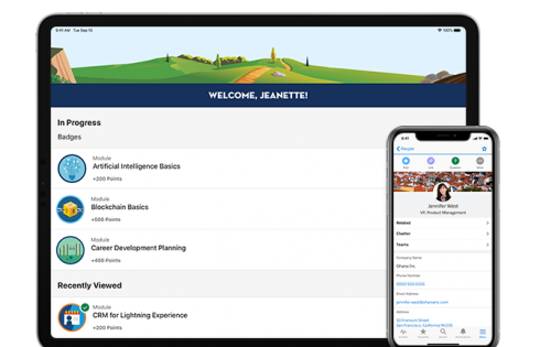 Salesforce launches new Salesforce Mobile App, Trailhead GO with Apple, exclusive iOS, iPadOS features