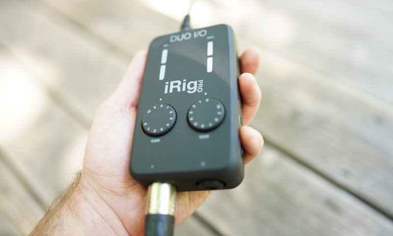 The iRig Pro Duo makes managing advanced audio workflows simple anywhere