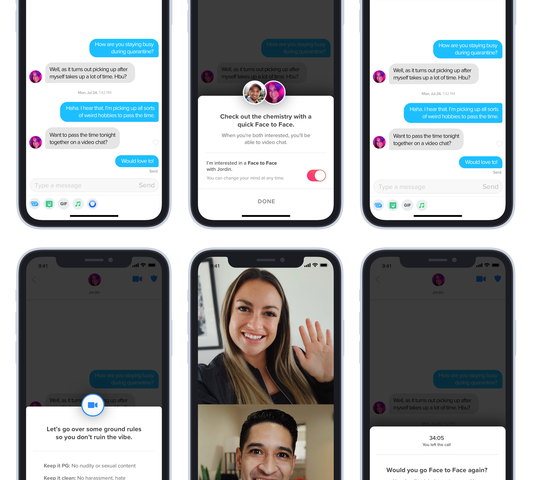Tinder now testing video chat in select markets, including U.S.