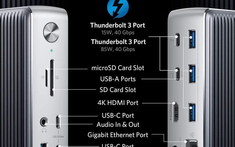 Anker PowerExpand Elite 13-in-1 dock: The ultimate must-have Thunderbolt 3 accessory for Mac and Windows users