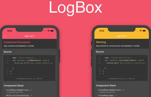 Mobile app developers: React Native 0.63 is out with LogBox for easier error debugging