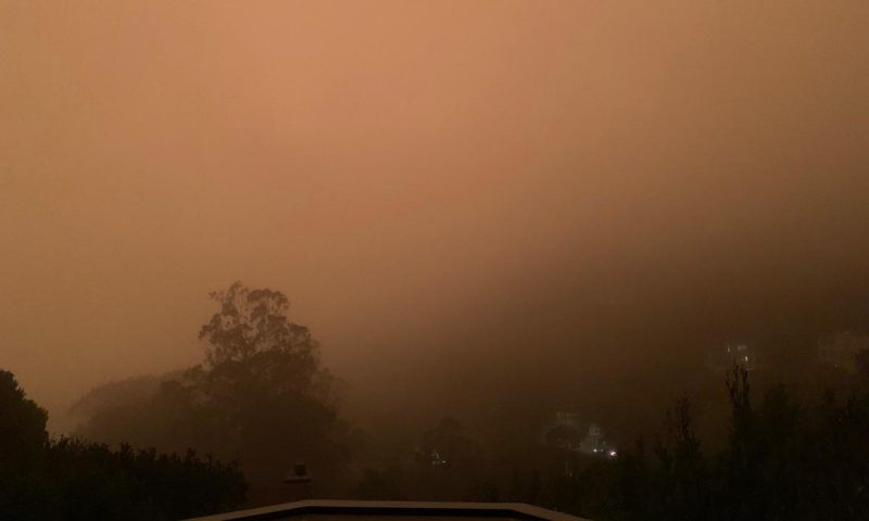 I tried to photograph the apocalypse, but my iPhone wouldn't let me