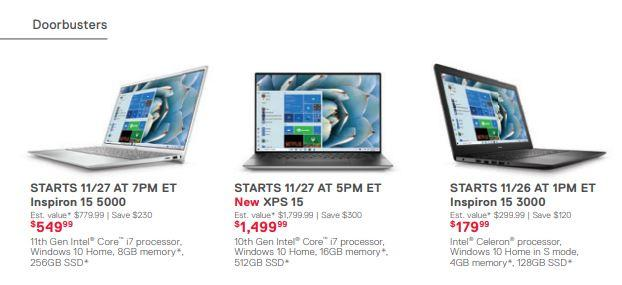 Dell reveals Black Friday, Cyber Monday deals weeks ahead of schedule