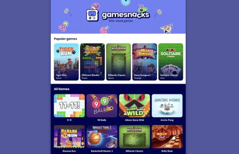 Area 120 is beginning to use Google's massive reach to scale HTML5 GameSnacks platform