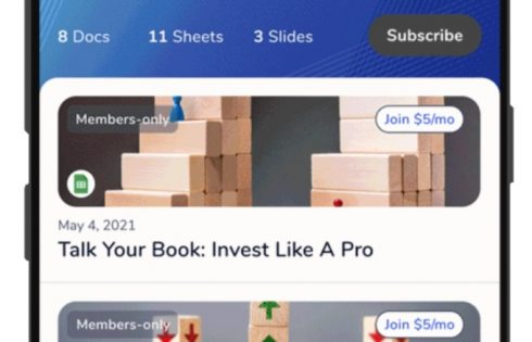 Google's R&D division experiments with newsletters powered by Google Drive