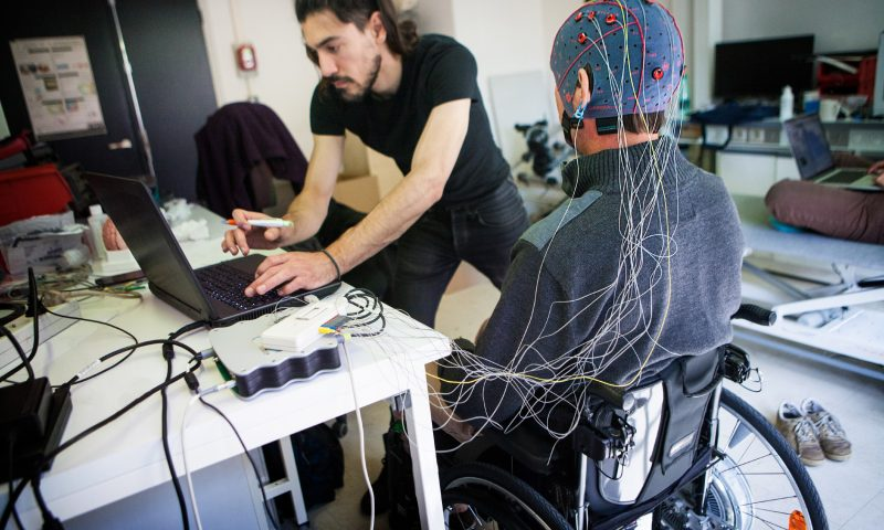 Cognixion's brain-monitoring headset enables fluid communication for people with severe disabilities
